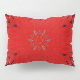 Fire Water Kaleidscope Pillow Sham