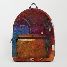 Violin Abstract One Backpack