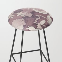 Floral Paisley Bar Stool