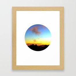 Landscapes - Sunset Framed Art Print