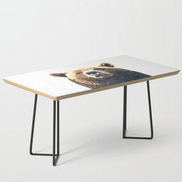 Bear portrait Coffee Table