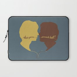 DOES YOUR STOMACH HURT? Laptop Sleeve