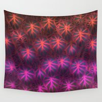 rare Wall Tapestries featuring Rare Jungle, Dusk by Lindel Caine