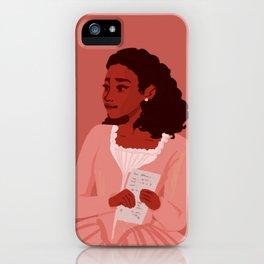 Angelica Schuyler iPhone Case