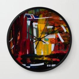 Redactions: A Self Portrait Wall Clock