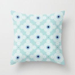 Ornamental snowflakes Throw Pillow