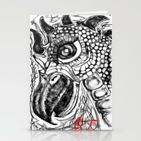 et Stationery Cards featuring et by holimp art