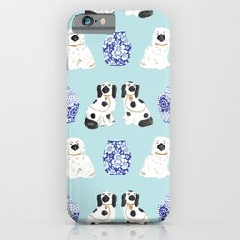 Staffordshire Dogs + Ginger Jars No. 7 iPhone Case