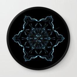Void Mandala Wall Clock