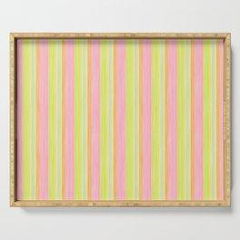 Yellow Pink Lime Scrapbook Sherbert Serving Tray