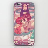 spirited away iPhone & iPod Skins featuring Spirited Away  by SweetOwls