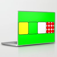 tour de france Laptop & iPad Skins featuring Tour de France Jerseys 2 Green by The Learning Curve Photography