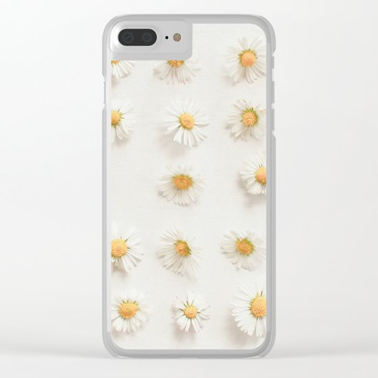 Daisy Collection Clear iPhone Case
