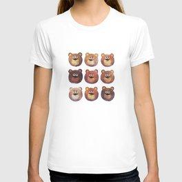 Nine Angry Bears T-shirt