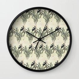 Deer in the Dark Wall Clock