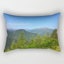 Mountain and trees Rectangular Pillow