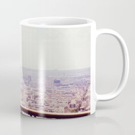 Overlooking Paris - Telescope Coffee Mug