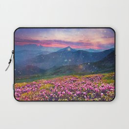 Blooming mountains Laptop Sleeve