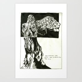 Facillitation Art Print