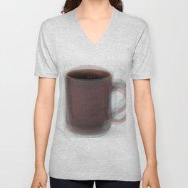 Coffee Mug Overlay Unisex V-Neck