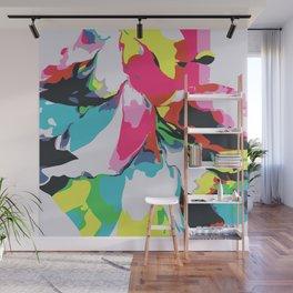 Color Burst Wall Mural