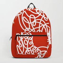 Rooster Doodle Backpack