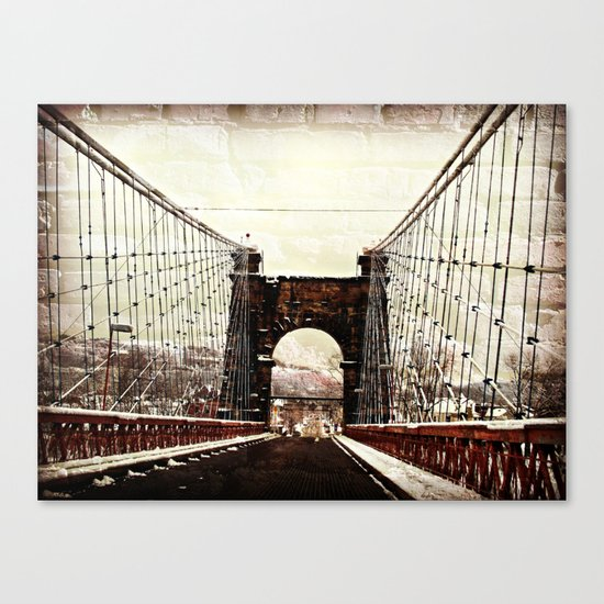 The End Of Suspension Canvas Print