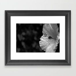 It rained on me and that is FINE  Framed Art Print