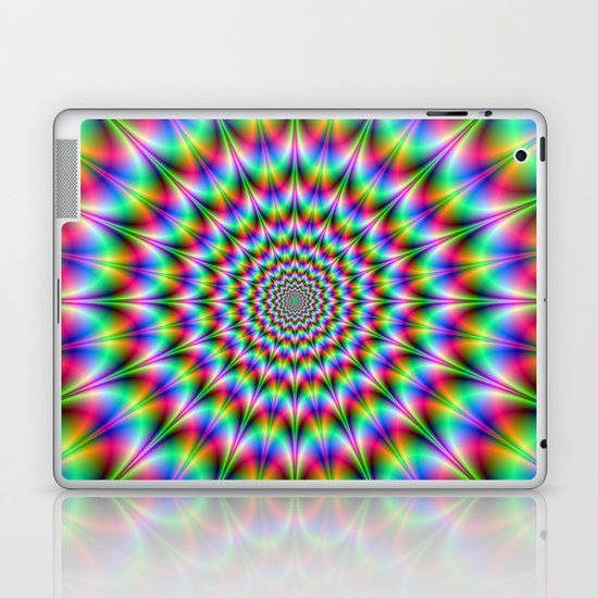 Psychedelic Explosion Laptop & iPad Skin