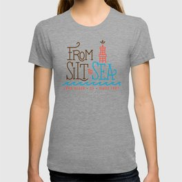 From Silt to Sea | Long Beach California Tribute | From Oil Workers to Surfers T-shirt