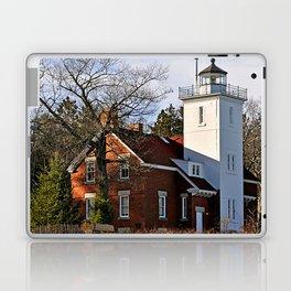40 Mile Point Lighthouse Laptop & iPad Skin