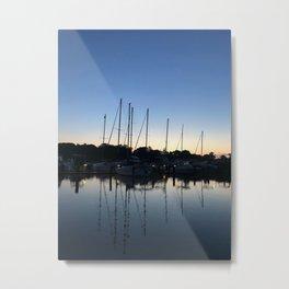 Mirroring Metal Print