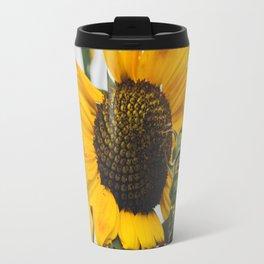 Sunflower Season Ends Travel Mug