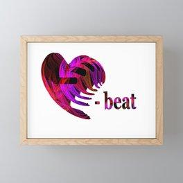 Heartbeat Framed Mini Art Print