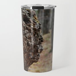 Face in Tree ~ What You See  Travel Mug