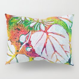 Leaves on the World Tree: Czechs Lípa ( Linden or Lime ) Pillow Sham