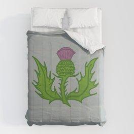 scotland thistle Comforters