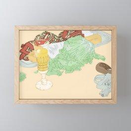 Still Life - Home Decor Framed Mini Art Print
