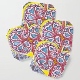 kidney heart Coaster