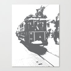 WE LOVE ISTANBUL Canvas Print