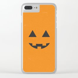 Jack-o'-lantern Clear iPhone Case