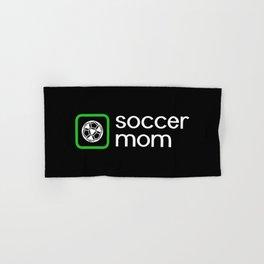 Soccer Mom (Green) Hand & Bath Towel