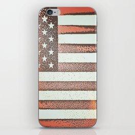Flag U.S. American United States Sun Sunshine iPhone Skin