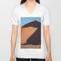dune V-neck T-shirts featuring Sand Dune by Katie Jo Sheppard
