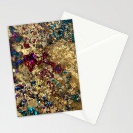 Golden Oil Slick Quartz Stationery Cards
