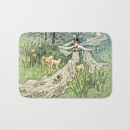 Fairy in the Meadow Bath Mat
