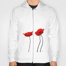 Simply poppies Hoody