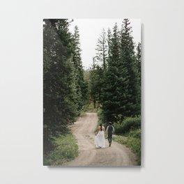 Kelsey & Kota Metal Print