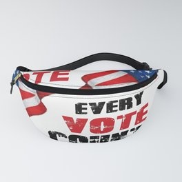 Vote - Every Vote Counts Fanny Pack