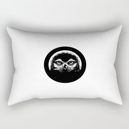meh.ro logo Rectangular Pillow
